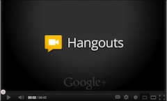 Google+Hangouts On Air
