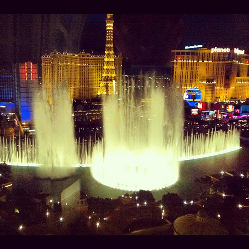 I spoke at a conference in Las Vegas this week and this was the view outside my room