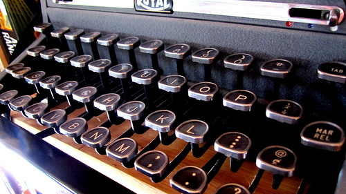 photo credit: typewriter via photopin (license)