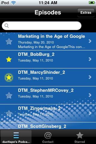 dtm iphone app