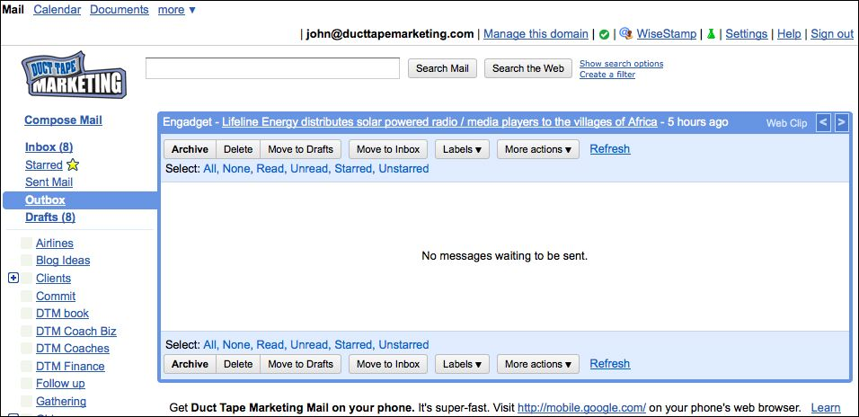 how to get a business email with gmail