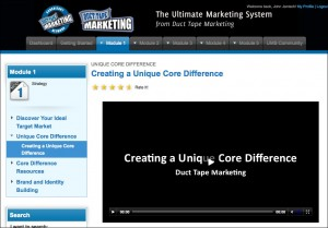 Ultimate Marketing System video - Click to enlarge