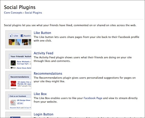 Facebook Like Social Plugin