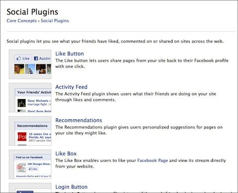 Facebook Like Social Plugin