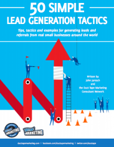 Read our entire library of ebooks this ebook is a compilation of lead generation tactics taken from the wild over the years by john jantsch and the growing army of duct tape marketing fandeluxe Gallery