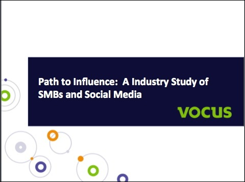 social media study duct tape marketing and vocus