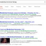 bio hormone therapy