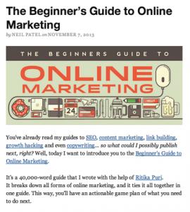 Beginners guide