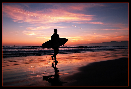 I'll be in San Diego this week presenting at Social Media Marketing World - surf's up!
