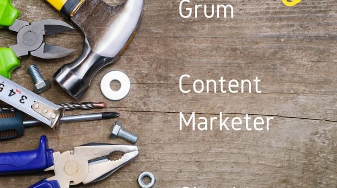 Grum Content Marketer Clearbit