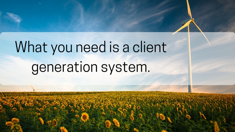 client generation system