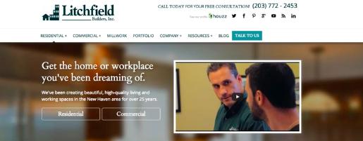 Litchfield Builders INC website.