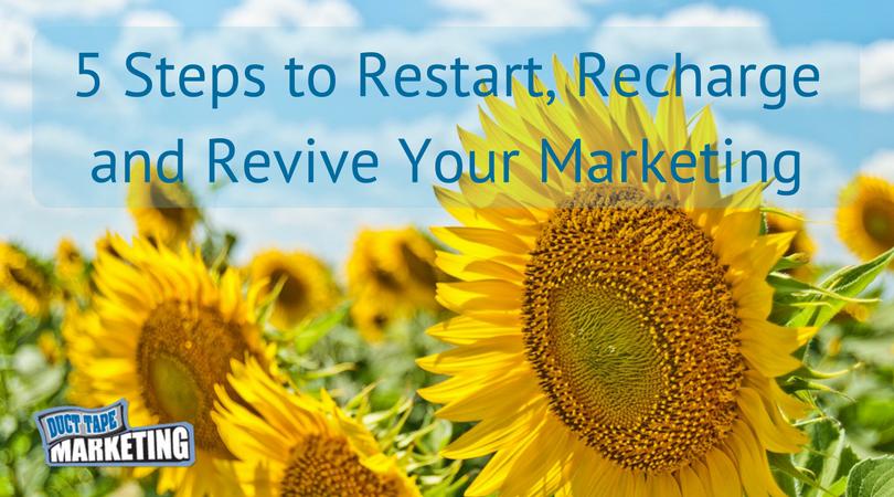 Restart Your Marketing